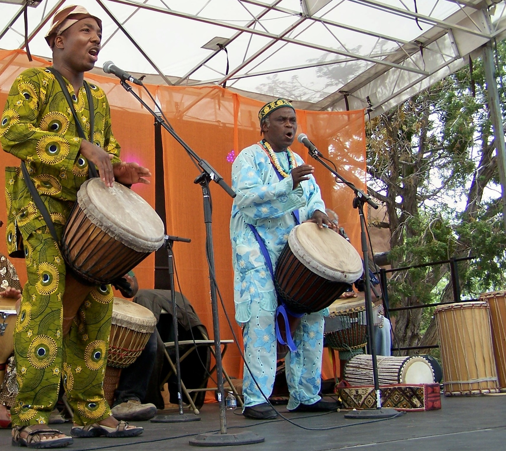 AGALU African Drumming @ Intl. Folk Market